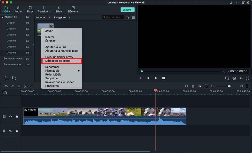 Comment détecter les changements de scènes vidéo