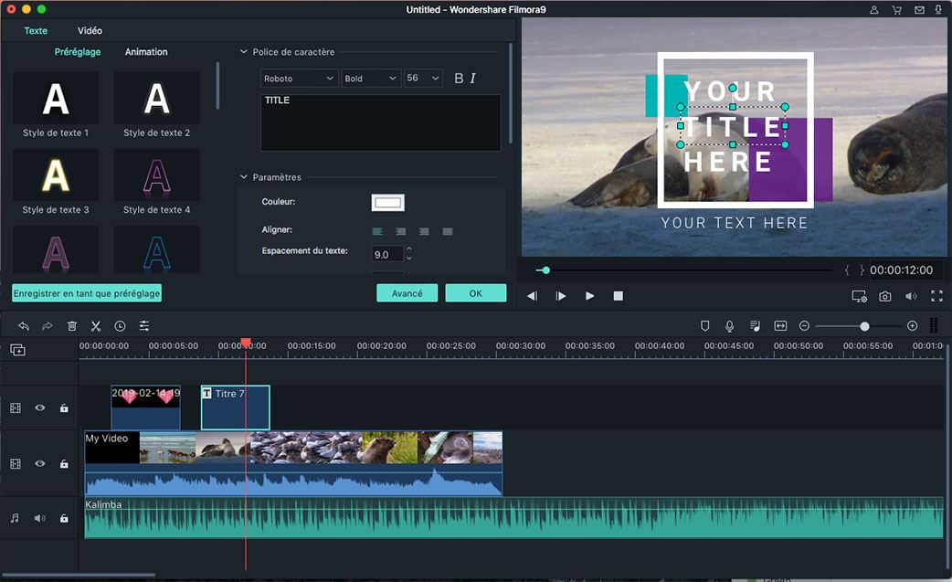 Meilleure Alternative à WeVideo Video Editor pour Mac OS