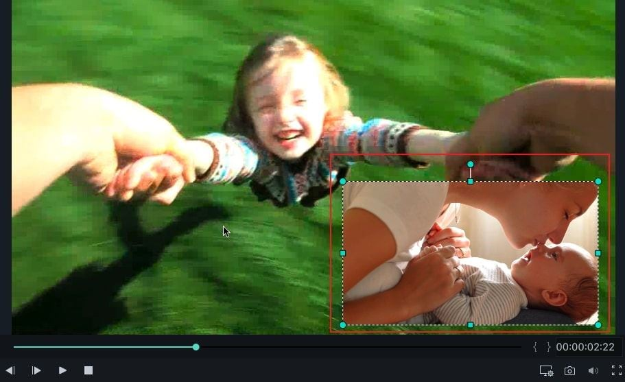 video overlay imovie