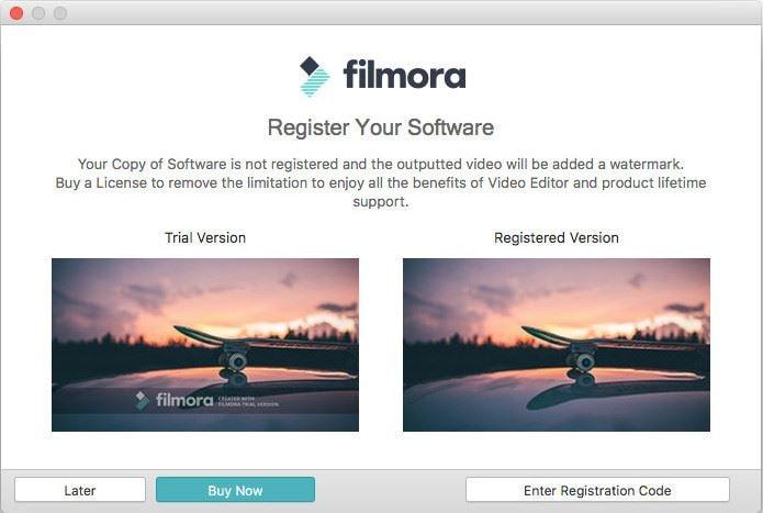 register filmora