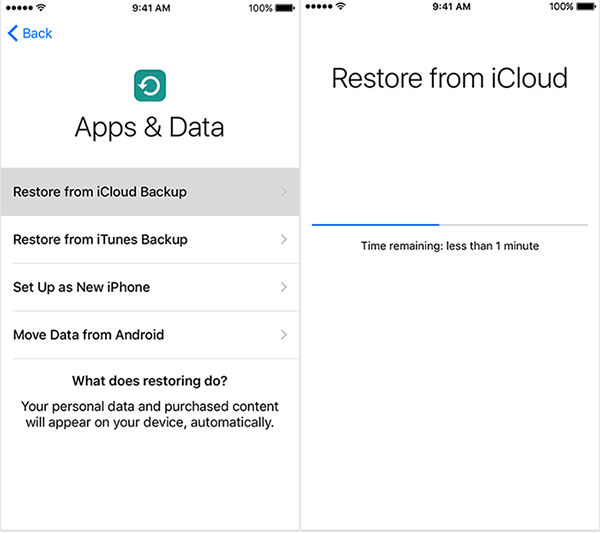 how to restore iphone from icloud without resetting how to restore iphone 7 from icloud backup 6591
