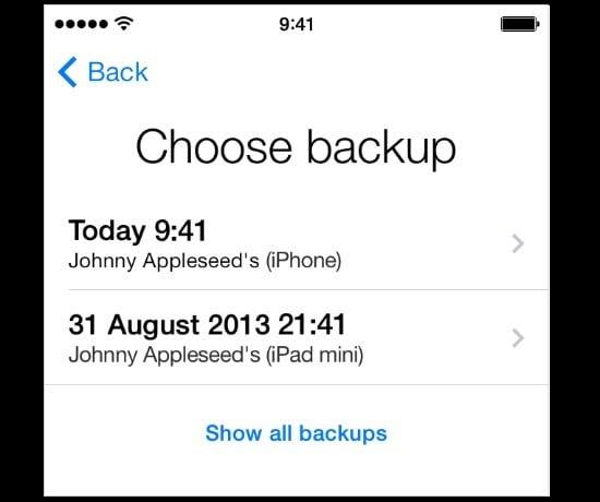 how to find password on apple restore iphonee