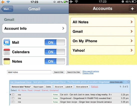 how to delete gmail email on iphone 5s