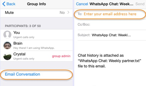 2 Easy Ways to Download Messages from WhatsApp