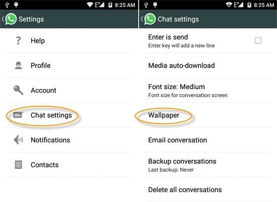 How to Use the Settings for WhatsApp