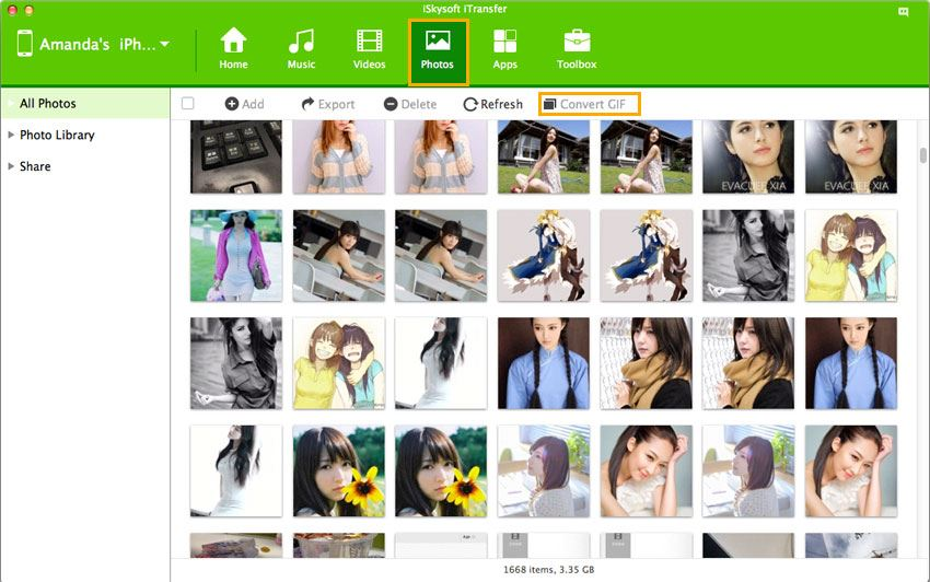 how to convert photo to gif
