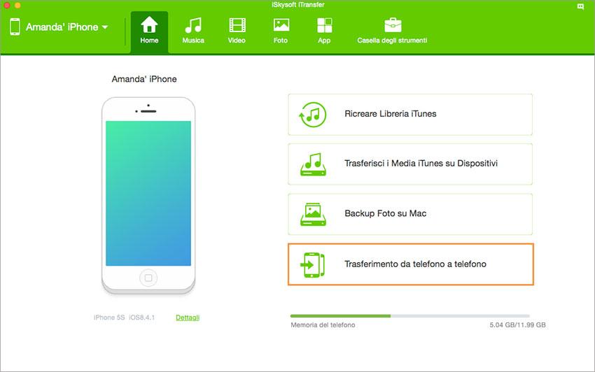 Come Trasferire Canzoni da iPod a iPhone 7/7 Plus/6 Plus/6/5s/5c/5/4s/4