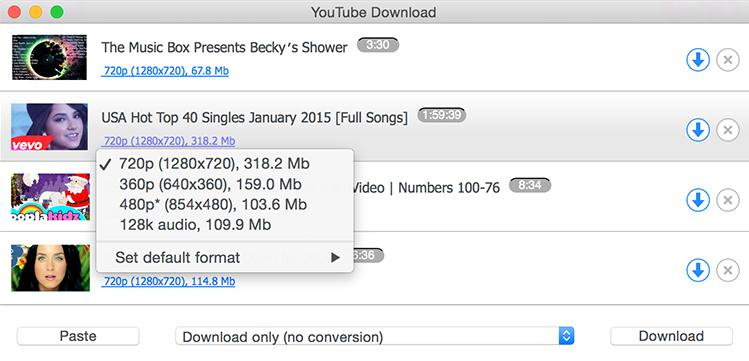 Top 5 Free YouTube Downloader App for Mac