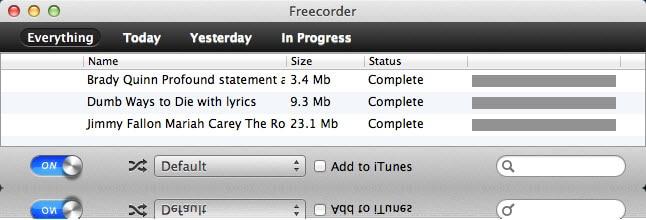 Vixy Freecorder for Mac