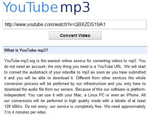 How to Convert YouTube to MP3 for iPhone in High Quality