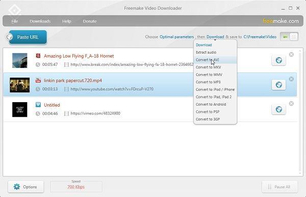 Freemake YouTube Downloader