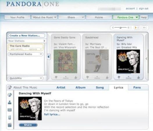 Pandora for mac free