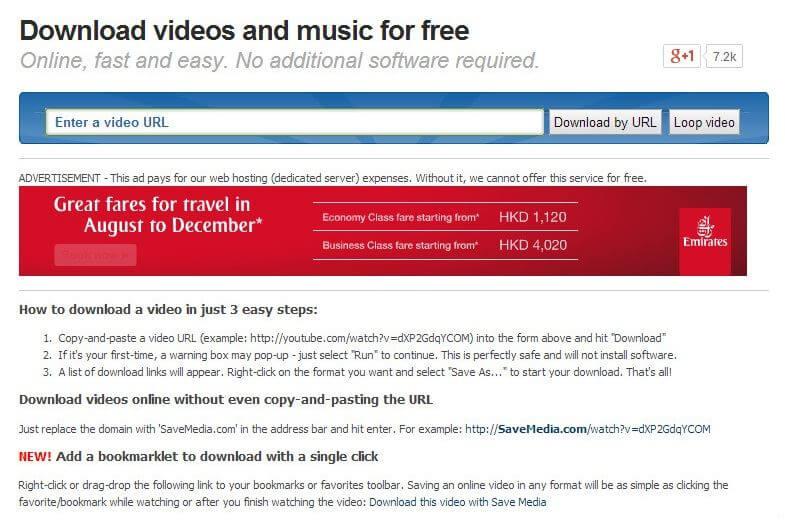 Top 10 YouTube Movie Downloader Online Program