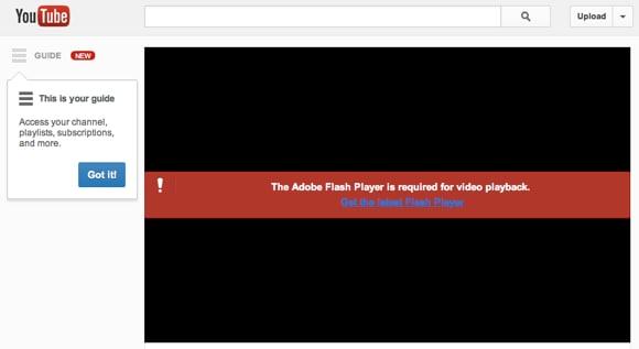 youtube video no se zu reproduzieren