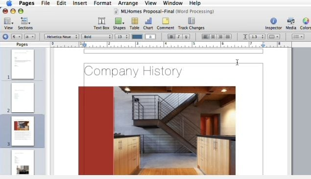 Edit PDF documents in Pages