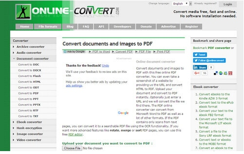 Top 5 Best Online Word to PDF Editor