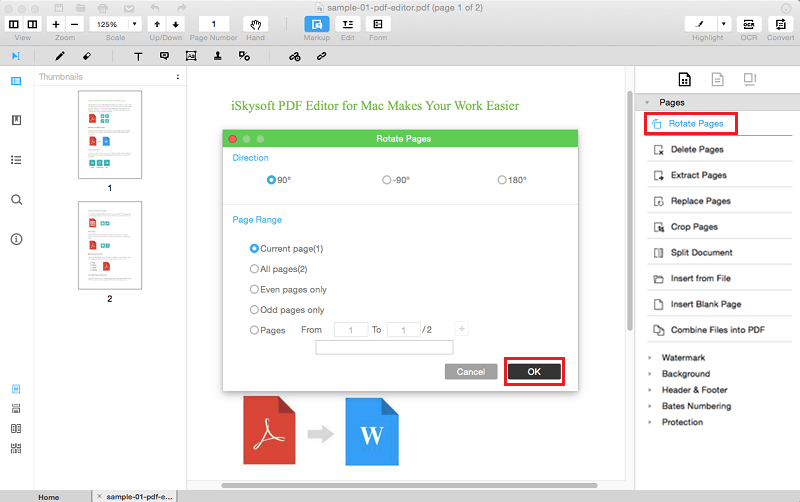 How to extract pages from a PDF
