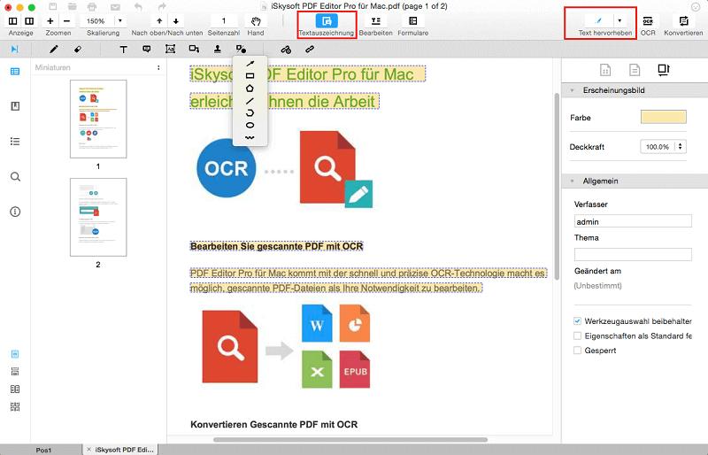 2 Methoden für das Einfügen eines PDF in ein Word Dokument