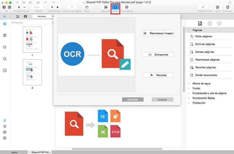 add image to pdf mac