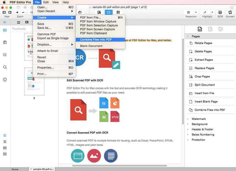How to Create PDF from Screen Capture
