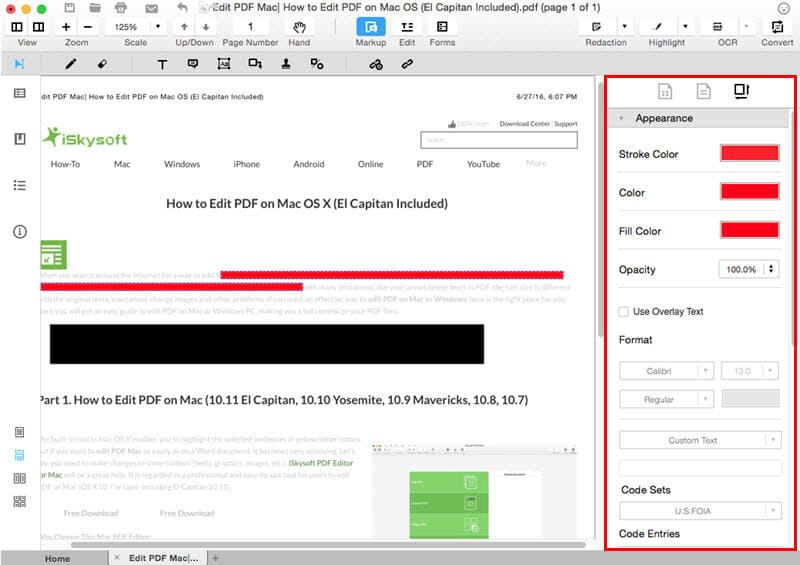 iSkysoft PDF Editor Pro for Mac and Windows