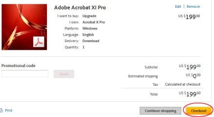 adobe acrobat to buy