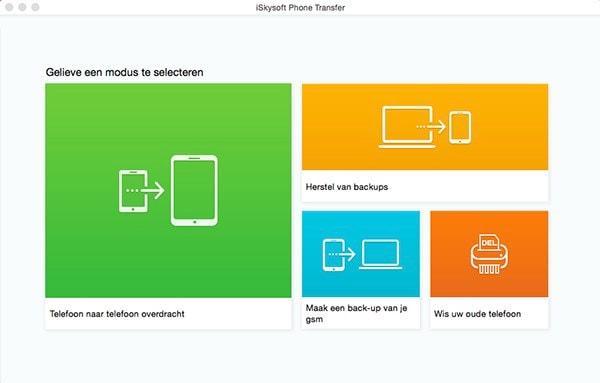 Hoe berichten van IPhone naar iPhone te verplaatsen zonder iTunes en iCloud