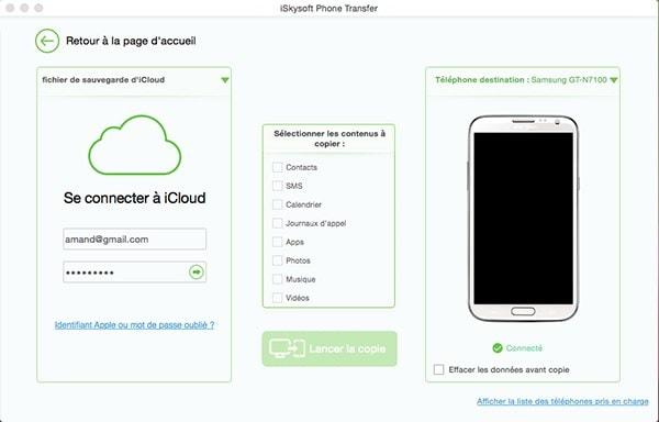 4 techniques pour transférer les calendriers iCloud sur des périphériques Androi