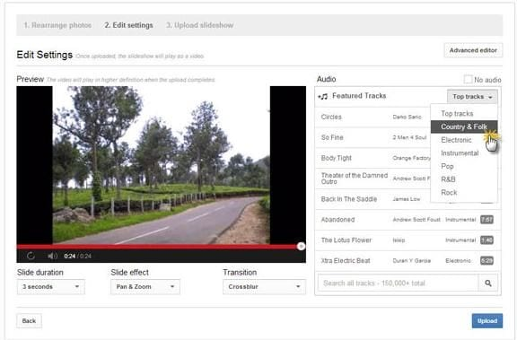 YouTube Slideshow Maker: How to Make a YouTube Slideshow with Music