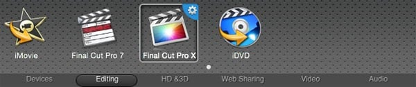 convert MTS/M2TS to Final Cut Pro