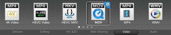Best 10 WMV to MOV Converter