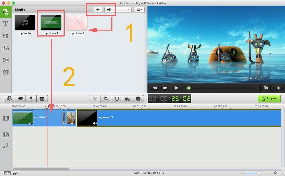How to add photos to video in videoredo
