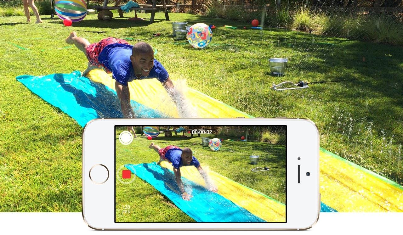 slow motion iphone camera