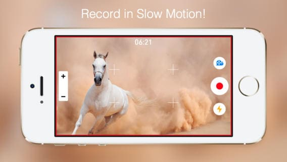 slow motion video on iphone 5