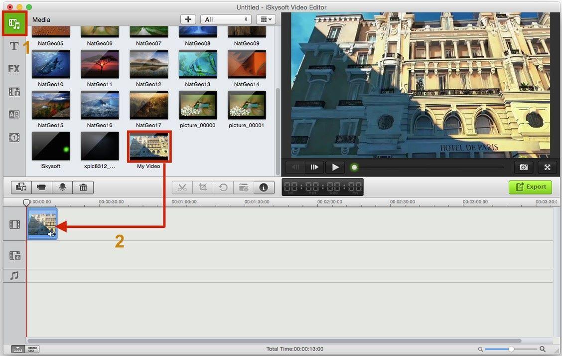 crop a video