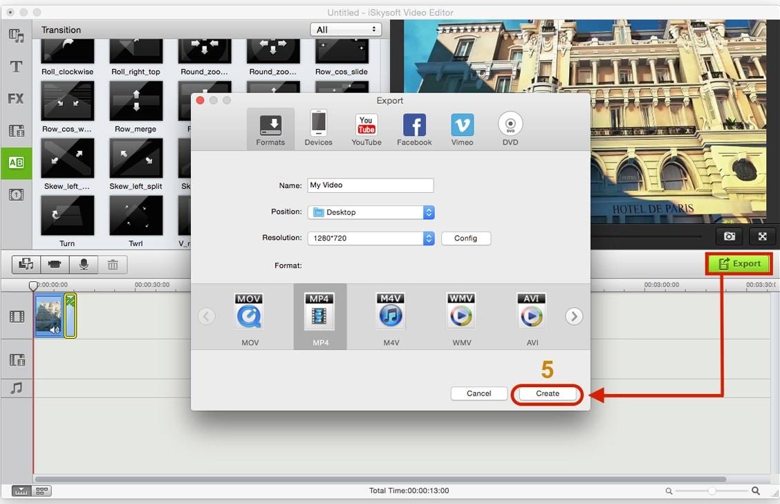 how to crop video