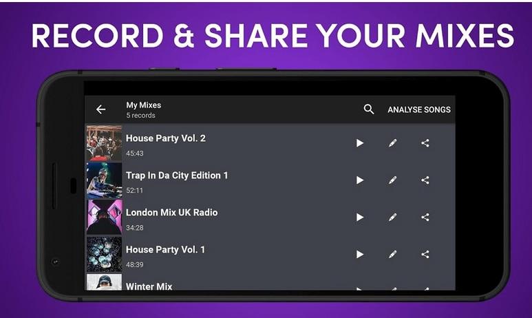 Top 10 des applications de mixage musique pour iPhone et Android  en 2019