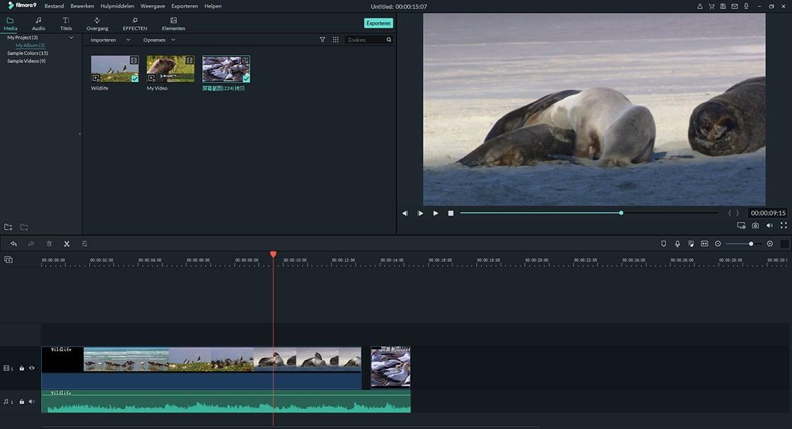combineer video en photo