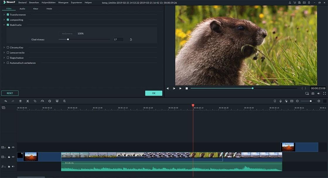 video's stabiliseren