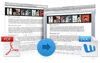 how to change a pdf file to word on mac