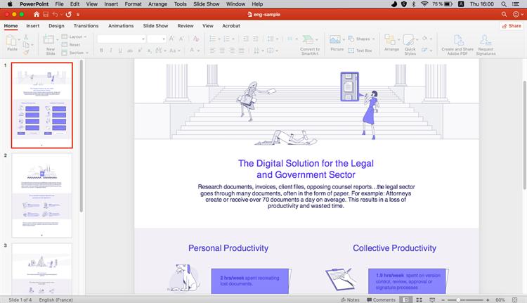 come inserire pdf nel ppt