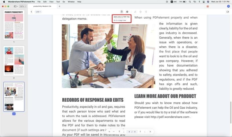 como crear url de un pdf