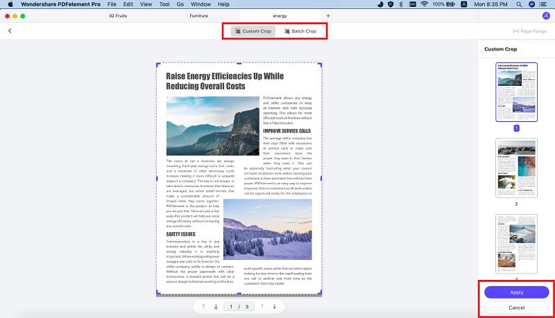 cajas de páginas en pdf