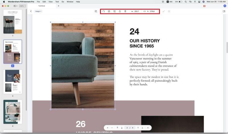 edit pdf images