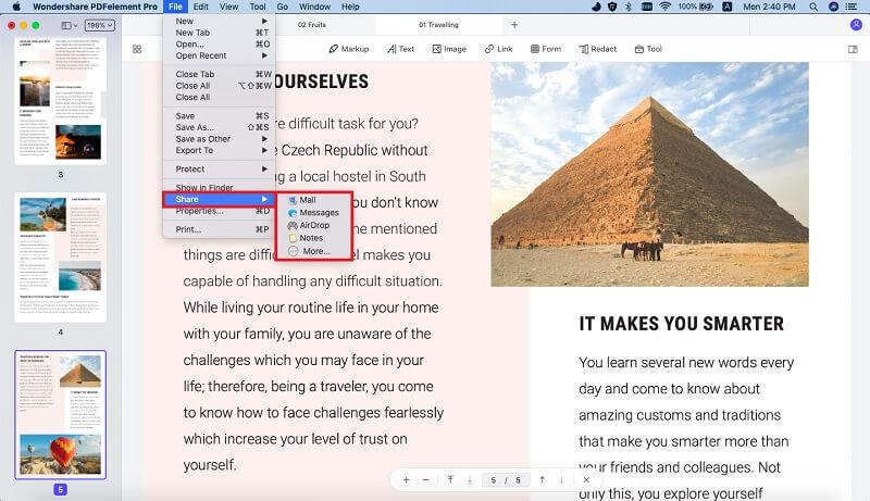 save pdf as html