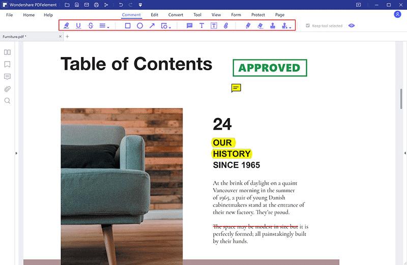 annotating pdf on windows