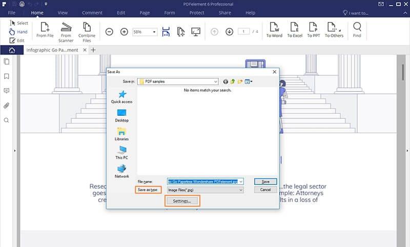 change pdf to jpg on windows