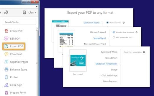 convert pdf om met adobe uit te blinken