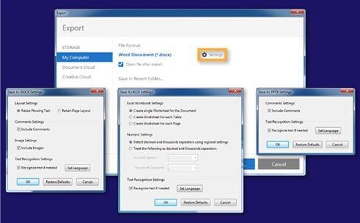 converteer pdf-bestanden