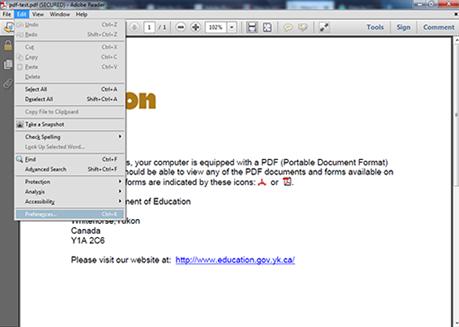 comment changer la couleur de la police pdf